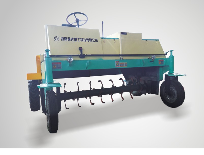 新型行走轮式翻抛机工作原理和结构