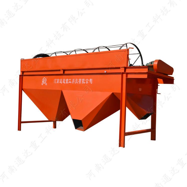 滚筒式有机肥颗粒筛分机每小时产量能达到多少吨