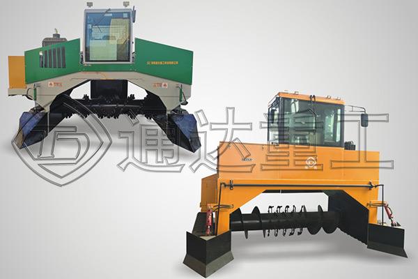 地面行走式翻堆机和其它翻抛机相比有哪些优势