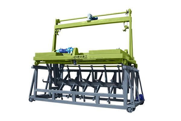 生产有机肥6米槽式翻抛机价格