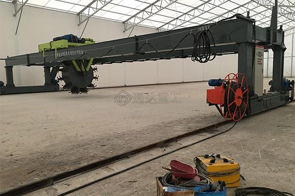 30米大跨度猪粪槽式翻堆机生产厂家哪家好